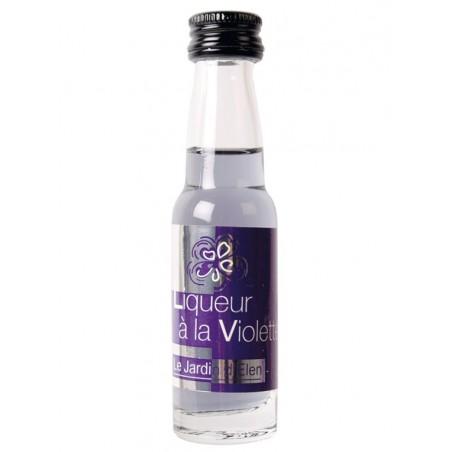 Mignonette de liqueur Violette 20ml