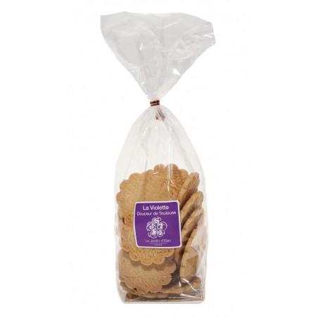 Galettes pur beurre saveur Violette 150g