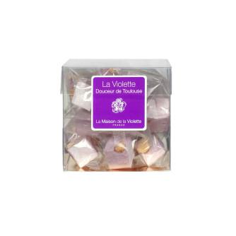 Nougat à la Violette cube 100g