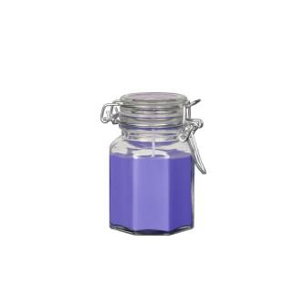 """Bougie à la Violette """"pot fantaisie"""""""