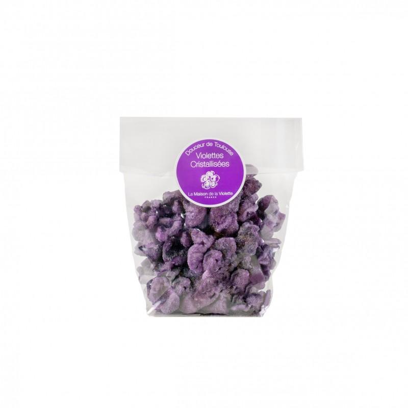 Sachet de violettes cristallisées 60 gr