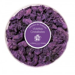 Crystalized violet box 60g