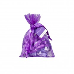 Set of 6 violet candies