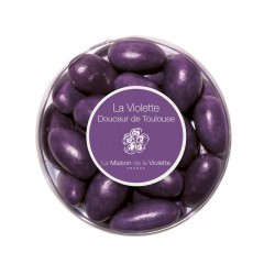 Violet dragee (almond & milk chocolate) 90g