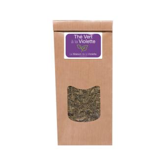 Violet green tea (100g)
