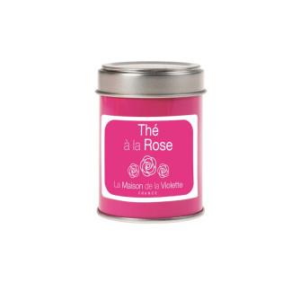 Boite Thé noir à la Rose 20g