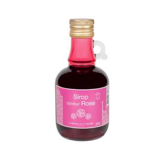 Sirop saveur Rose 10cl