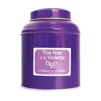 Violet black tea 130g