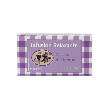 Infusion Relaxante Verveine / Violette 24 dosettes