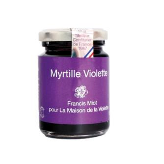 Confiture Myrtille/Violette 100g Le Jardin d'Elen par FRANCIS MIOT