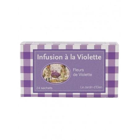 Infusion à la Violette 24 dosettes