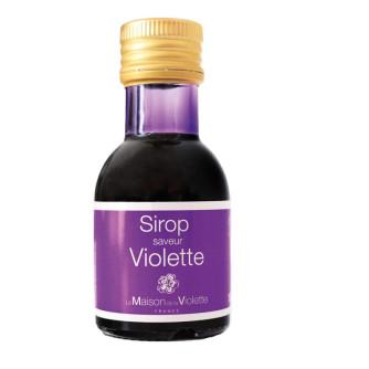 Sirop concentré saveur Violette 10cl