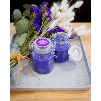 "Violet scented candle  ""Pot Fantaisie"""