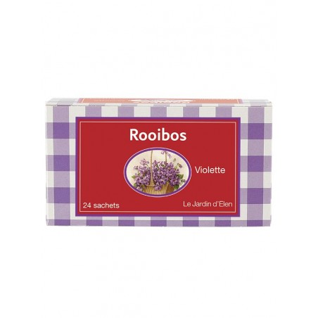 Infusion Rooibos Violette (24 dosettes)