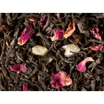 Sachet de thé noir à la Rose 100g