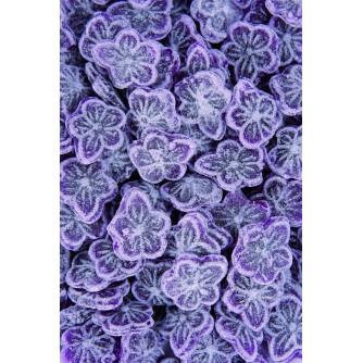 kilo de bonbons acidulés forme fleur saveur Violette