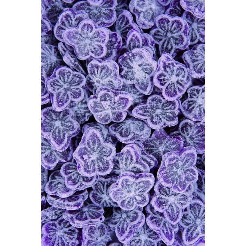 kilo de bonbons acidul s forme fleur saveur violette la maison de la violette. Black Bedroom Furniture Sets. Home Design Ideas